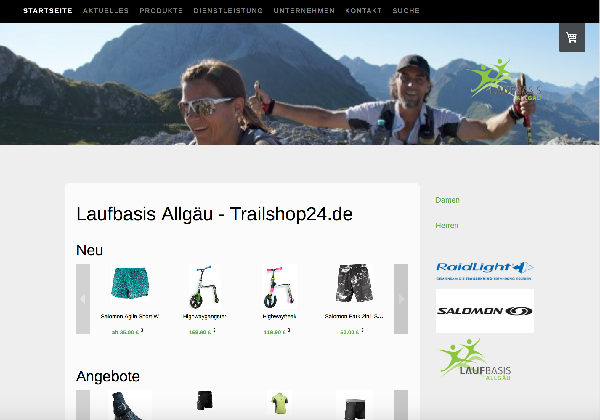 Trailshop24 Onlineshop